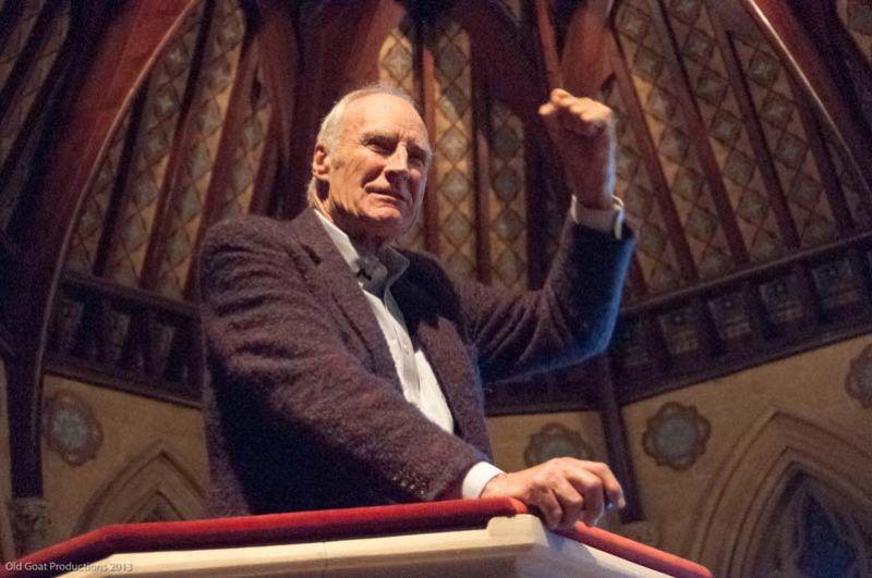 Peter Snow - 2013 Wells Festival of Literature