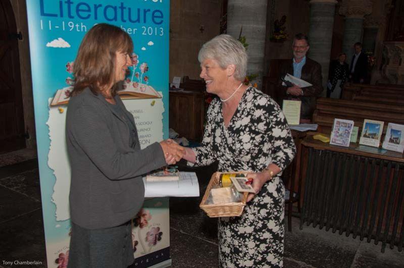 Nell Leyshon - 2013 Wells Festival of Literature