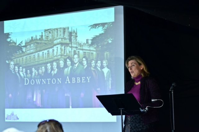 Lady Carnarvon - 2014 Wells Festival of Literature