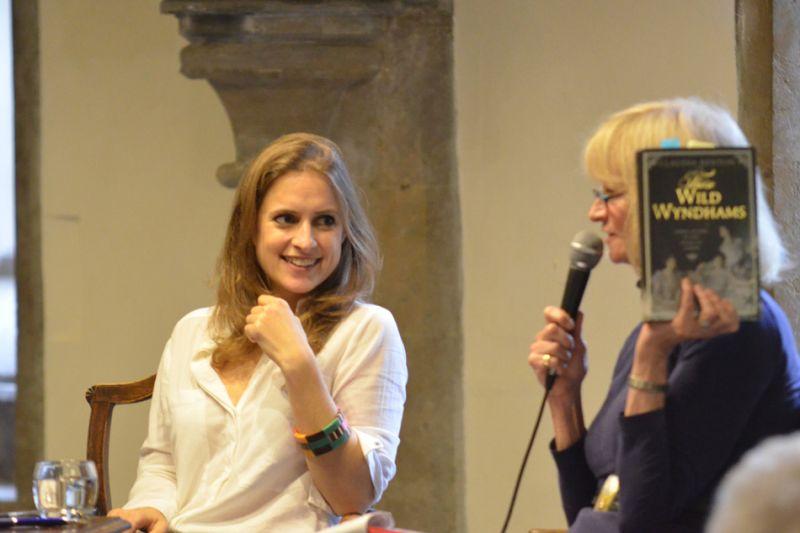 Claudia Renton - 2014 Wells Festival of Literature
