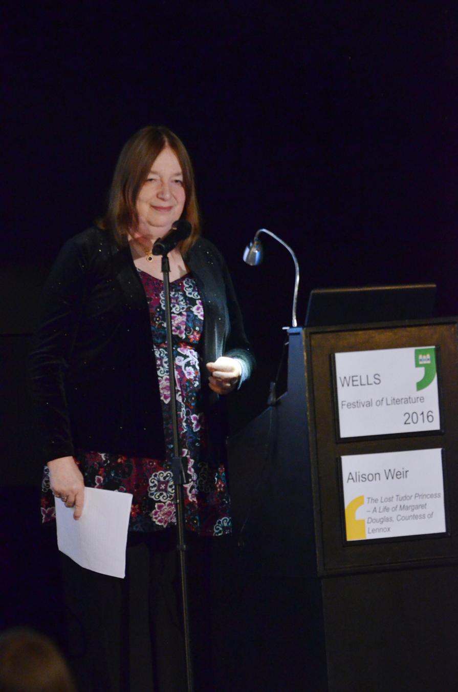 Alison Weir - 2016 Wells Festival of Literature