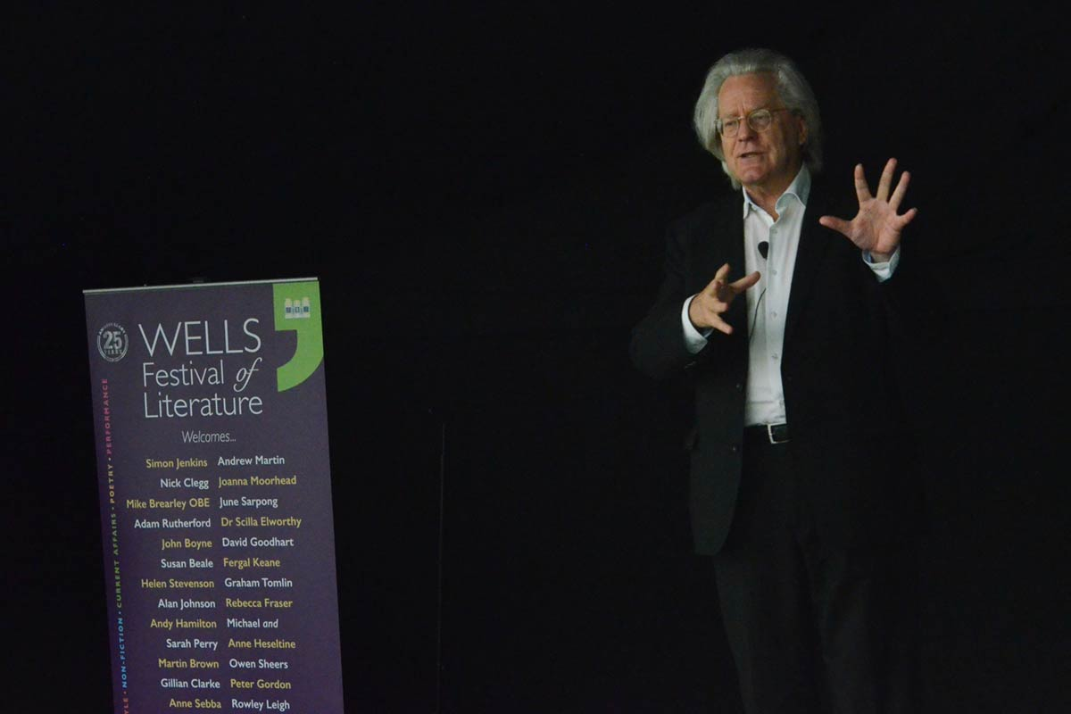 AC Grayling - 2017 Wells Festival of Literature