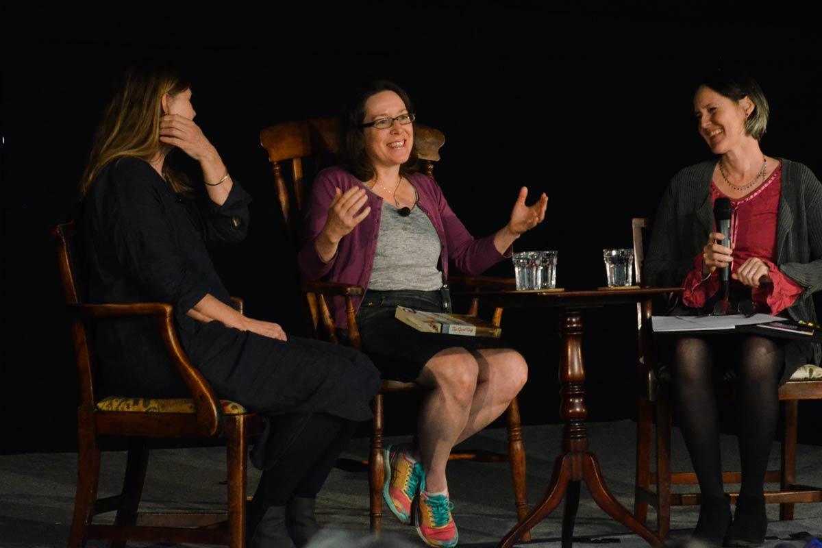 Helen Stevenson, Susan Beale and Emma Craigie - 2017 Wells Festival of Literature