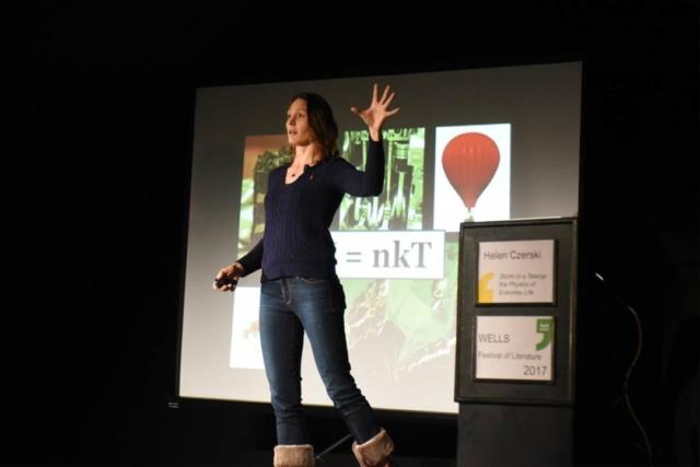 Helen Czerski - 2017 Wells Festival of Literature