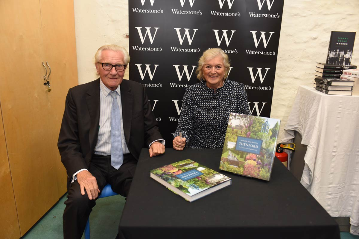 Michael and Anne Heseltine - 2017 Wells Festival of Literature