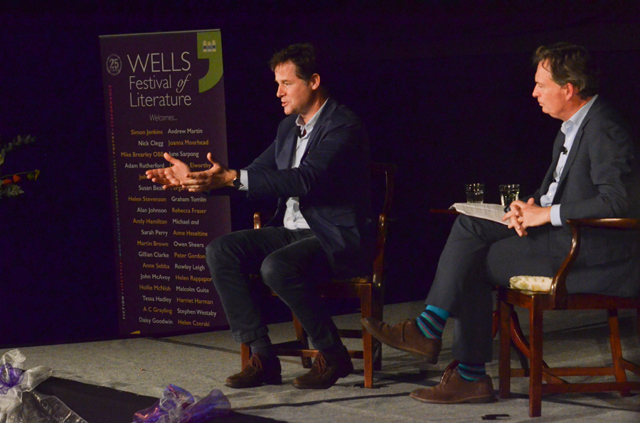 Nick Clegg - 2017 Wells Festival of Literature