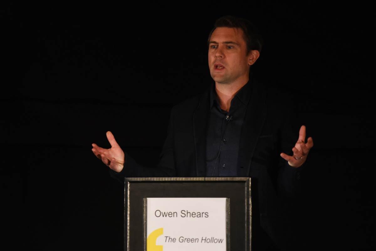 Owen Sheers - 2017 Wells Festival of Literature