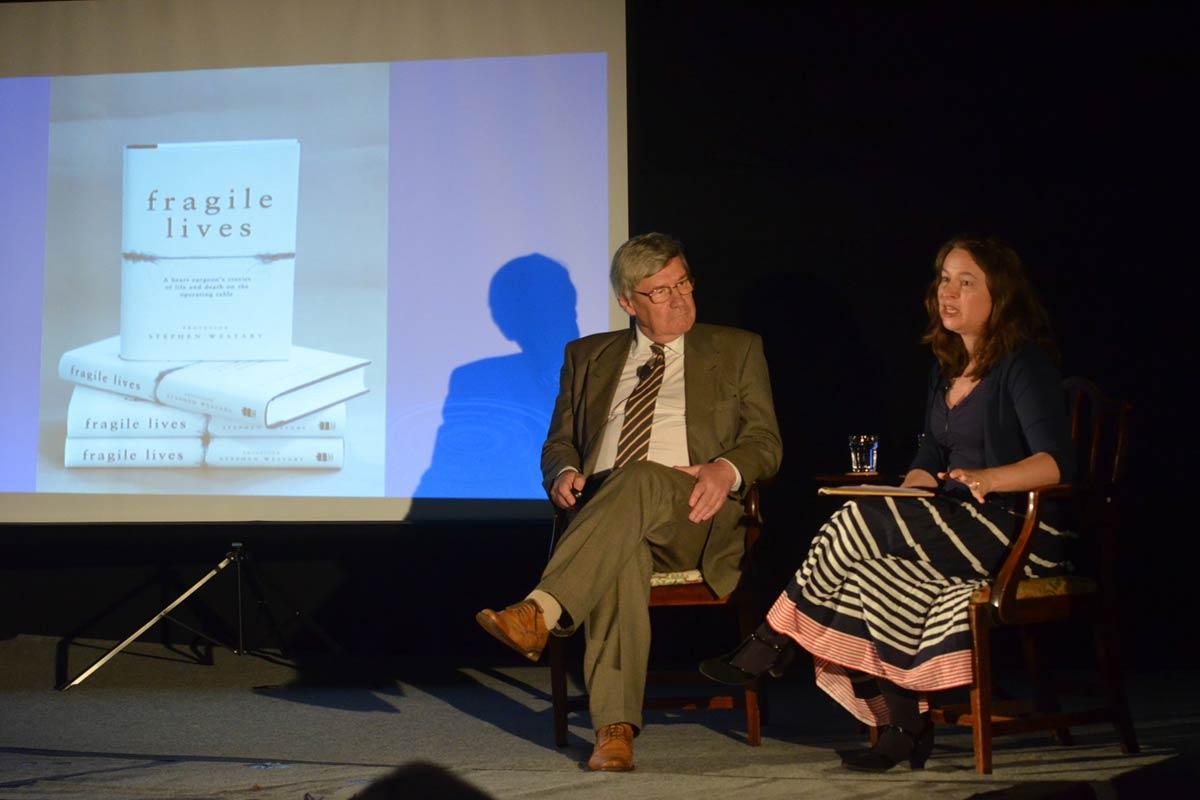 Stephen Westaby - 2017 Wells Festival of Literature