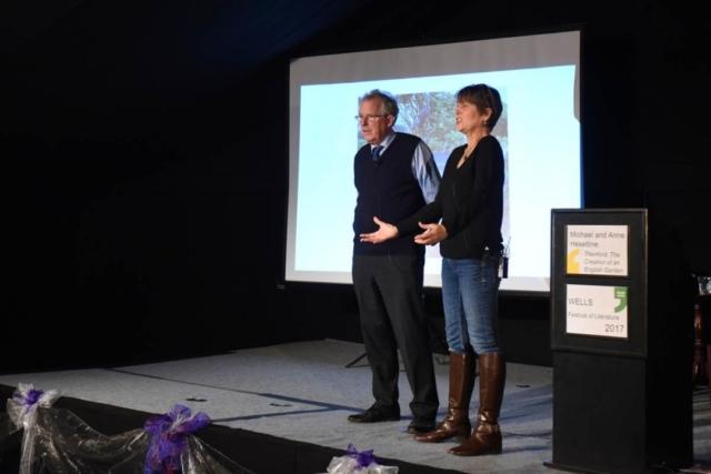 William and Caroline Waldegrave - 2017 Wells Festival of Literature