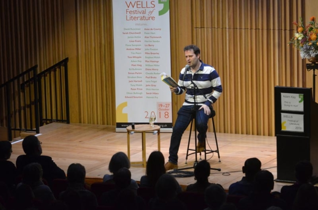 Adam Kay - 2018 Wells Festival of Literature