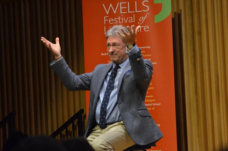 Alan Titchmarsh - 2018 Wells Festival of Literature