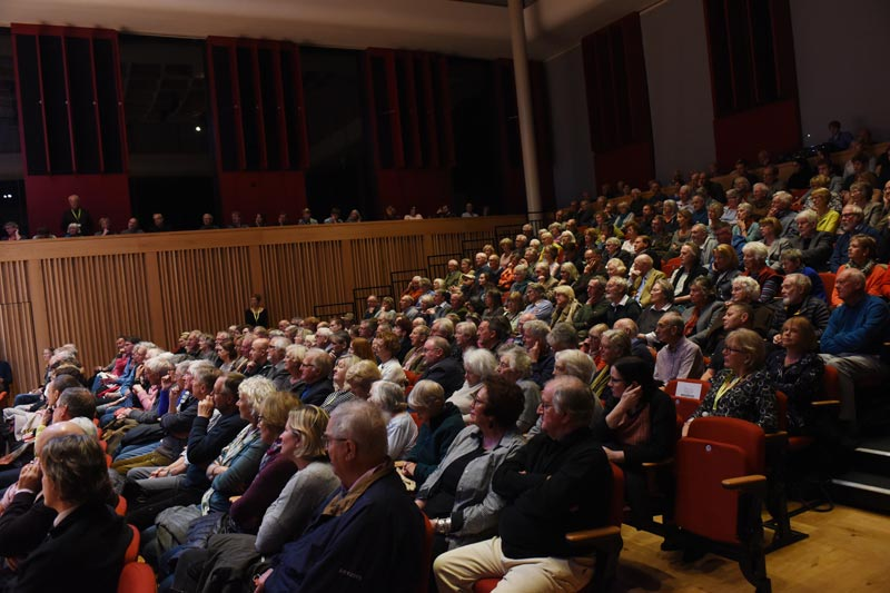 Audience - 2018 Wells Festival of Literature