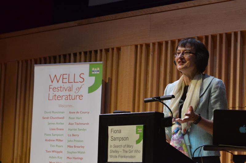 Fiona Sampson - 2018 Wells Festival of Literature