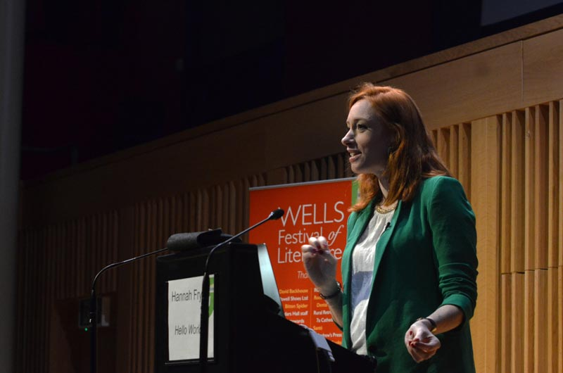 Hannah Fry - 2018 Wells Festival of Literature