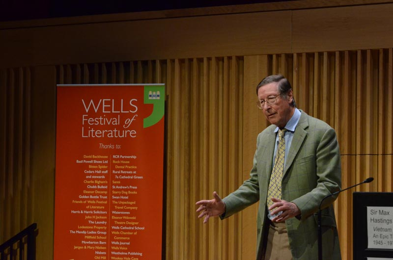 Max Hastings - 2018 Wells Festival of Literature