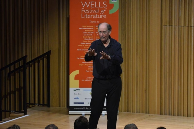 Peter Hart - 2018 Wells Festival of Literature
