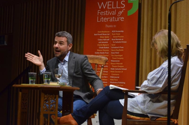 William Miller - 2018 Wells Festival of Literature