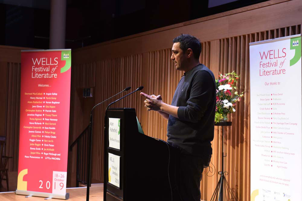 Adam Rutherford - 2019 Wells Festival of Literature