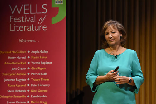 Angela Gallop - 2019 Wells Festival of Literature