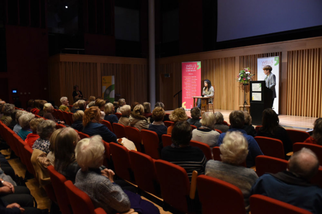 Audience - 2019 Wells Festival of Literature