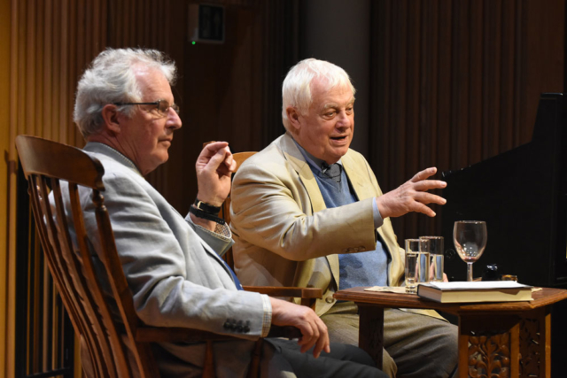 Chris Patten - 2019 Wells Festival of Literature
