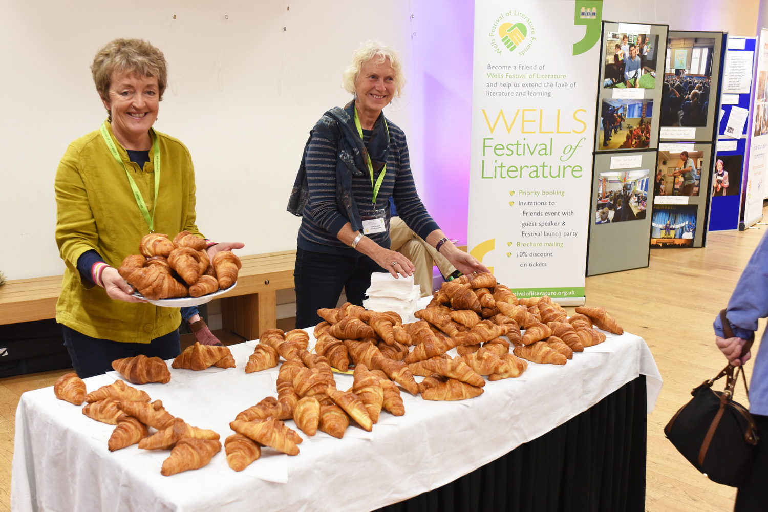 Croissants - 2019 Wells Festival of Literature