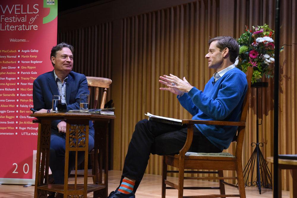 Jonathan Rugman - 2019 Wells Festival of Literature