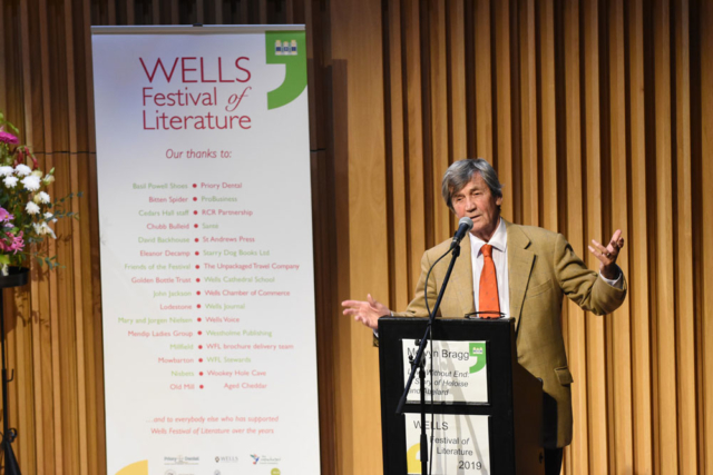 Melvyn Bragg - 2019 Wells Festival of Literature