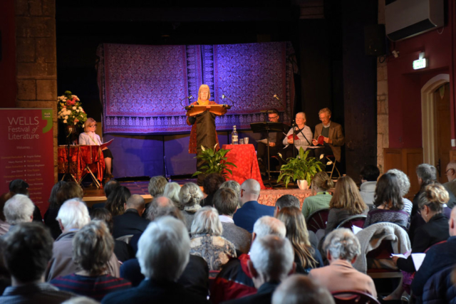 Prize Giving - 2019 Wells Festival of Literature