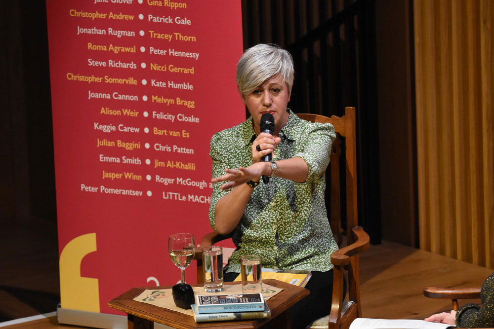 Tracey Thorn - 2019 Wells Festival of Literature