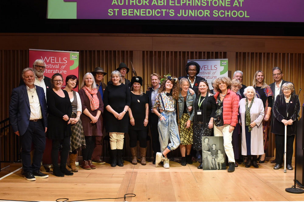Write Up Speak Up - 2019 Wells Festival of Literature