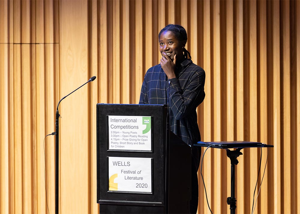 Poetry Reading and Prize Giving - 2020 Wells Festival of Literature