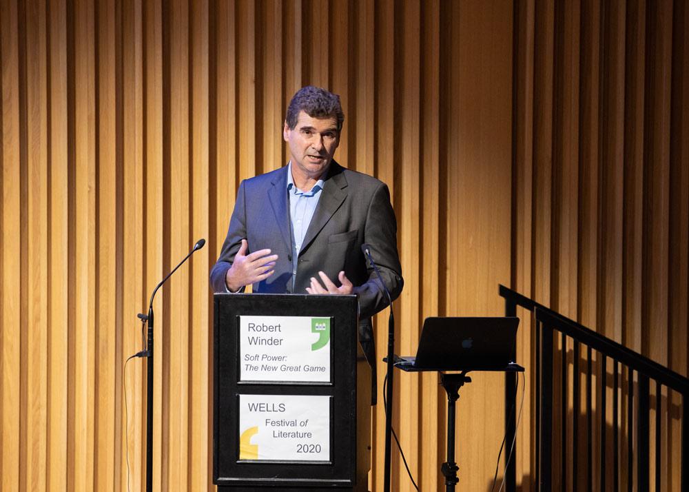 Robert Winder - 2020 Wells Festival of Literature